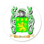 Mauri Round Car Magnet