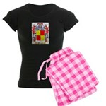 Maunsel Women's Dark Pajamas