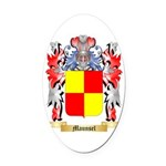 Maunsel Oval Car Magnet