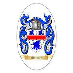 Maunier Sticker (Oval)