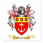 Maugerson Square Car Magnet 3