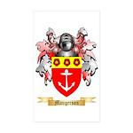 Maugerson Sticker (Rectangle 10 pk)