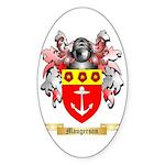 Maugerson Sticker (Oval 50 pk)