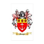 Mauger Sticker (Rectangle 10 pk)