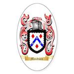 Maudson Sticker (Oval)