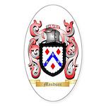 Maudson Sticker (Oval 10 pk)