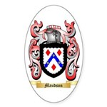 Maudson Sticker (Oval 50 pk)