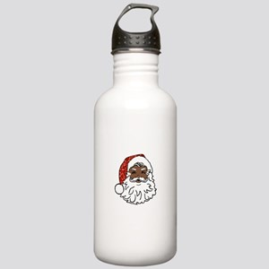 black santa claus Stainless Water Bottle 1.0L