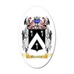 Maudsley 35x21 Oval Wall Decal