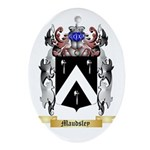 Maudsley Oval Ornament