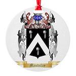 Maudslay Round Ornament