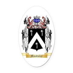 Maudslay Oval Car Magnet