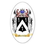 Maudslay Sticker (Oval 10 pk)