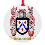 Maude Round Ornament