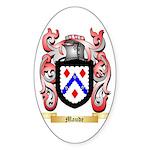 Maude Sticker (Oval)
