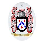 Maude Oval Ornament