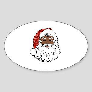 black santa claus Sticker