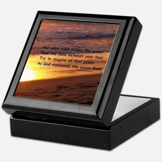 Funny Inspirational poem Keepsake Box