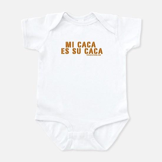 Spanish baby clothes cafepress mi caca es su caca infant bodysuit negle Images
