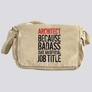 Badass Architect Messenger Bag