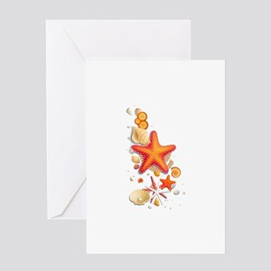 SeaSide Shells Greeting Cards