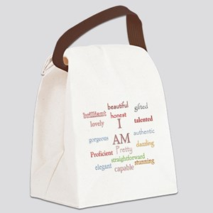 I AM Canvas Lunch Bag