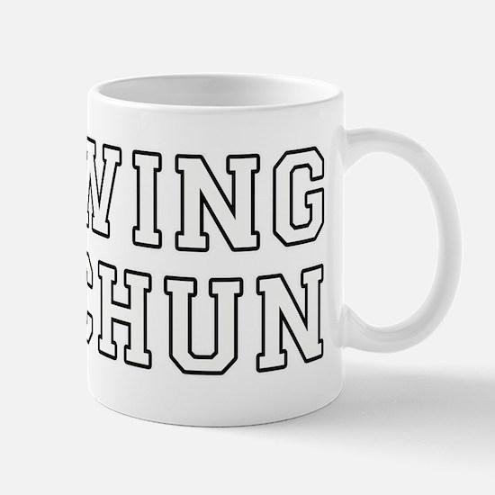 Wing Chun Mugs