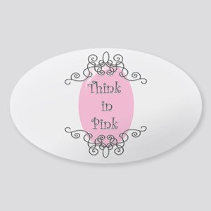think-in-pink2-bigger Sticker