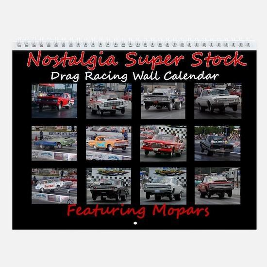 NSS Cars of Walter P. Launching Wall Calendar
