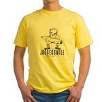 JAGGEDSMILE Yellow T-Shirt
