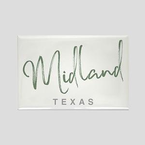 Midland Texas - Rectangle Magnet