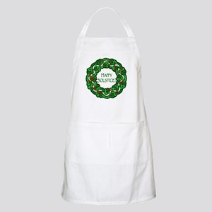 Celtic Solstice Wreath BBQ Apron