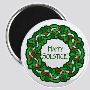 Celtic Solstice Wreath Magnet