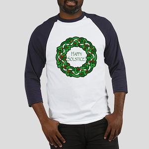 Celtic Solstice Wreath Baseball Jersey