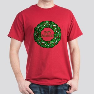 Celtic Solstice Wreath Dark T-Shirt