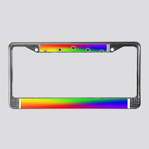 GLBT - Sunrise 'A New Day' License Plate Frame