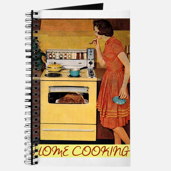Cute Retro cooking mom Journal