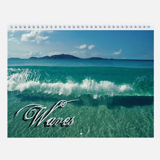 Waves Wall Calendar