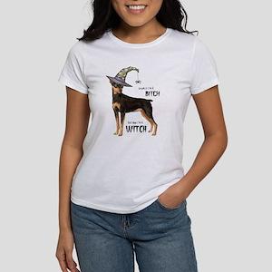Min Pin Witch Women's T-Shirt