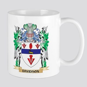 Davidson Coat of Arms (Family Crest) Mugs