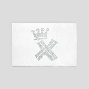 X, Alphabet 4' x 6' Rug