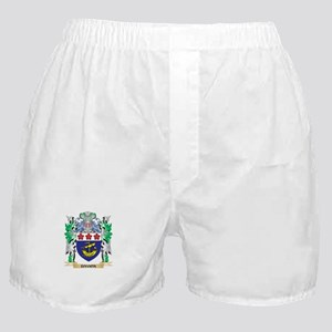Davion Coat of Arms (Family Crest) Boxer Shorts