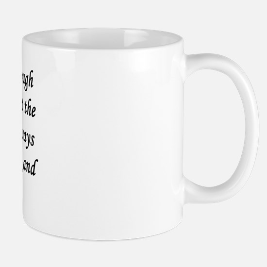 Time_blk_text Mugs