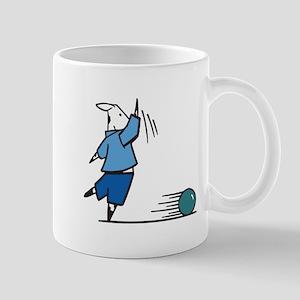 Silly Bowling Cow Mug