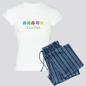 Personalize Flowers Pajamas