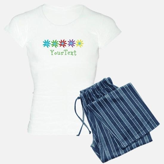 Personalize Flowers Pajamas