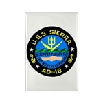 USS Sierra (AD 18) Rectangle Magnet (100 pack)