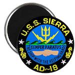 "USS Sierra (AD 18) 2.25"" Magnet (10 pack)"