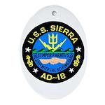 USS Sierra (AD 18) Oval Ornament