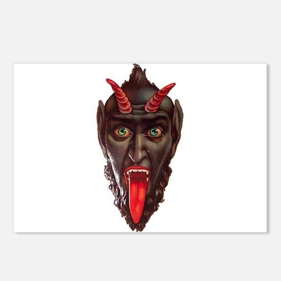 monster krampus Postcards (Package of 8)
